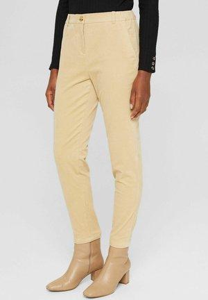 PULL-ON IM -STIL AUS - Trousers - sand