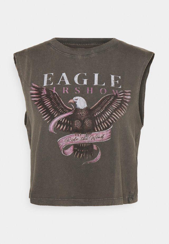MARLEY TANK - T-shirt imprimé - slate grey