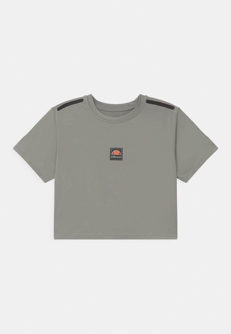 Ellesse - ASALI CROPPED - Print T-shirt - light grey