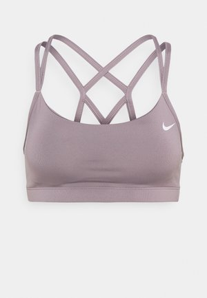 FAVORITES STRAPPY BRA - Brassières de sport à maintien léger - purple smoke/white