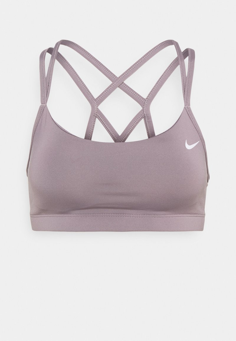 Nike Performance - FAVORITES STRAPPY BRA - Light support sports bra - purple smoke/white