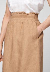 s.Oliver - A-line skirt - desert sand melange - 4