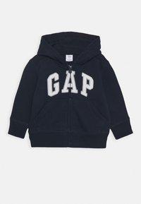 GAP - TODDLER BOY LOGO - Zip-up hoodie - blue galaxy - 0