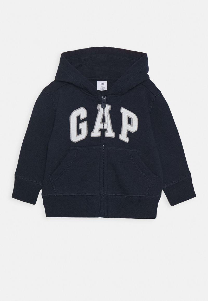 GAP - TODDLER BOY LOGO - Zip-up hoodie - blue galaxy