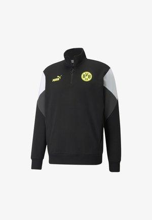 CULTURE  - Sweatshirt - puma black-safety yellow