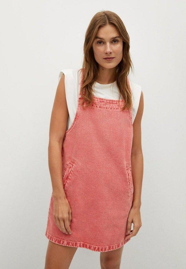 IMPACT-H - Denimové šaty - roze