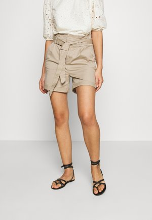 VMEVA PAPERBAG  - Shorts - silver mink