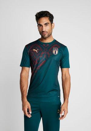 ITALIEN FIGC STADIUM THIRD - T-Shirt print - ponderosa pine/cordovan