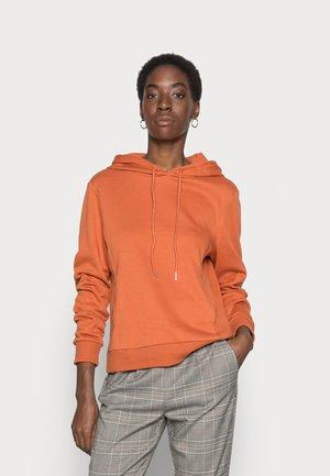 ONLINC JOEY EVERY COL SOLID HOODIE - Sweatshirt - bombay brown