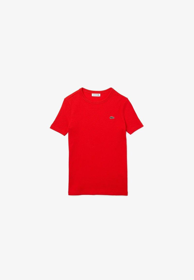 Lacoste - Basic T-shirt - rot