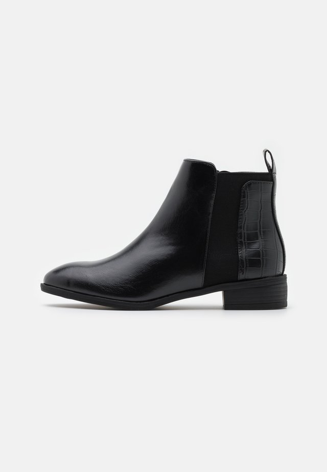 WIDE FIT IMOGEN - Classic ankle boots - black