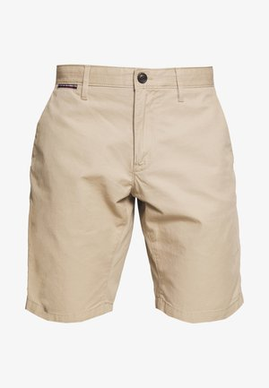 BROOKLYN SHORT LIGHT TWILL - Kraťasy - beige
