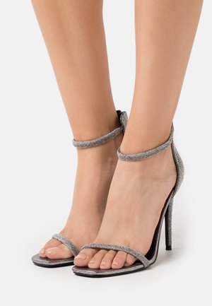 RAPTURE - High heeled sandals - silver
