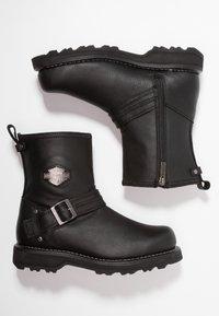 Harley Davidson - RICHTON - Cowboy/biker ankle boot - black - 1