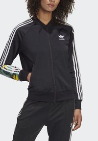adidas Originals - RACK TOP - Sweatshirt - black - 2