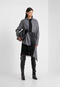 MM6 Maison Margiela - Áčková sukně - black - 1