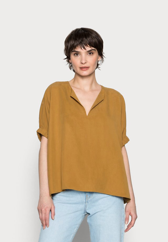 ZABALI - T-shirt z nadrukiem - cinnamon