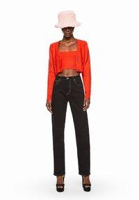 Pepe Jeans - DUA LIPA X PEPE JEANS - Cardigan - bright orange - 1