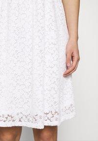 ONLY - ONLNEW ALBA SMOCK MIX DRESS - Cocktail dress / Party dress - bright white - 4