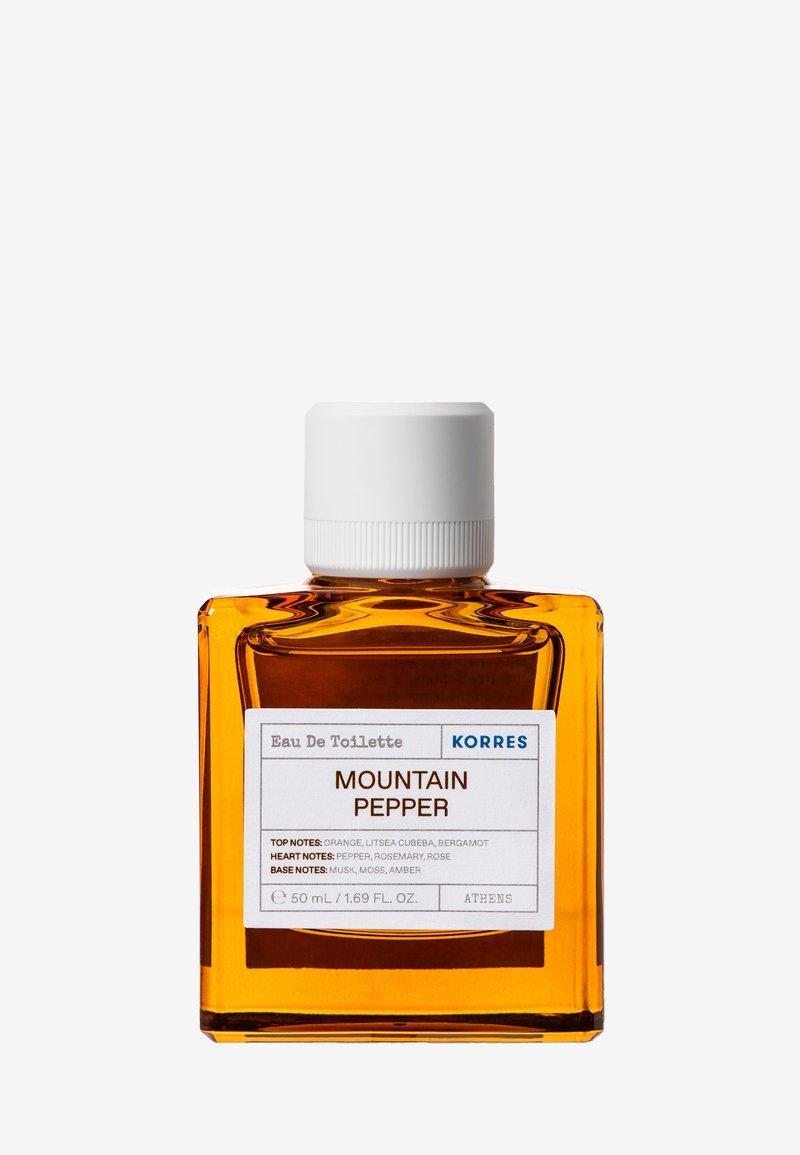 Korres - MOUNTAIN PEPPER EDT FOR HIM - Eau de Toilette - -
