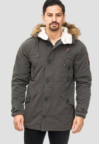 INDICODE JEANS - Winter coat - anthracite - 0