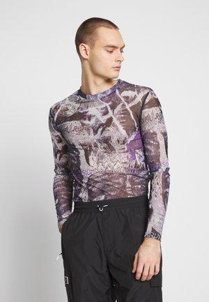 PYSCHEDLIC COLLAGE TOP - T-shirt à manches longues - purple
