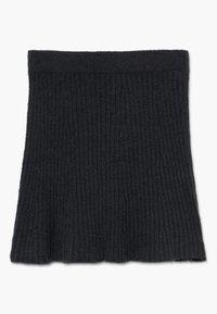 Abercrombie & Fitch - MATCH SKIRT - Áčková sukně - open black - 0