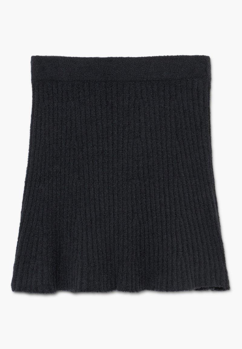 Abercrombie & Fitch - MATCH SKIRT - Áčková sukně - open black
