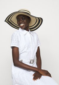 Lauren Ralph Lauren - STRIPE SUNHAT - Hat - natural/black - 0