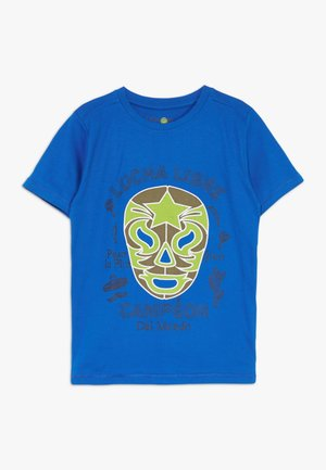SMALL BOYS  - T-shirt z nadrukiem - princess blue