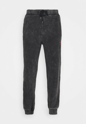 Loose Fit UNISEX - Tracksuit bottoms - mottled dark grey