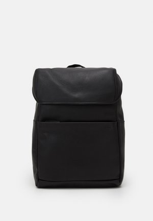 UNISEX LEATHER  - Plecak - black