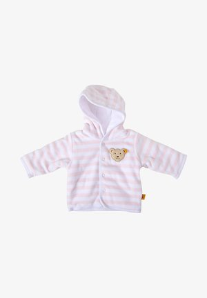 MIT KAPUZE - Fleece jacket - rose