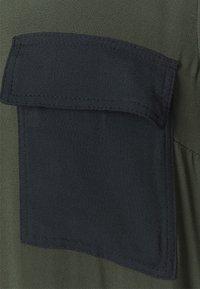 MAX&Co. - GLENDA - Skjortekjole - khaki green - 6