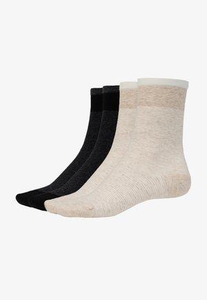 4-PACK - Socks - schwarz