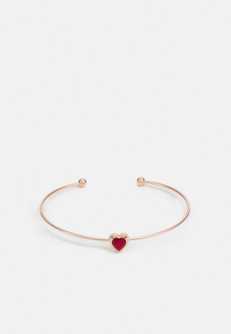 Ted Baker - HASINA HEART ULTRA FINE CUFF - Bracelet - rose gold-coloured
