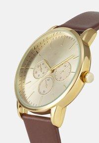 Pier One - LEATHER UNISEX - Watch - brown - 3