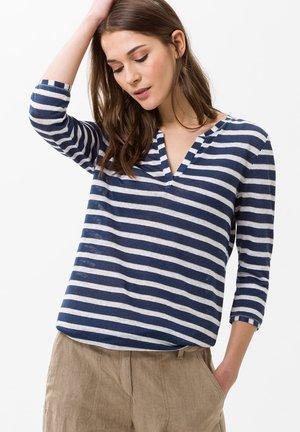 STYLE CLAIRE - T-shirt à manches longues - indigo