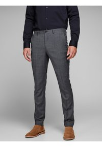 Jack & Jones PREMIUM - Suit trousers - dark grey - 3
