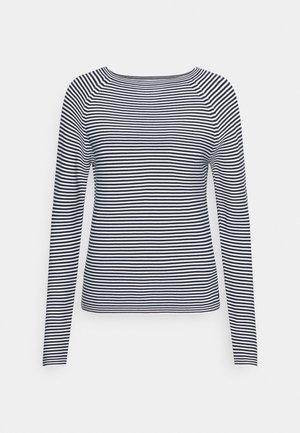 LONG SLEEVE CREW NECK - Strikkegenser - multi/scandinavian blue