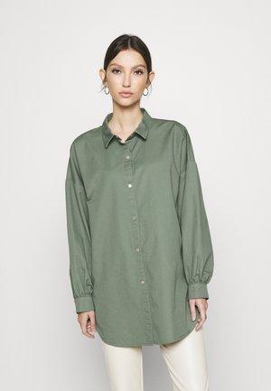JDYMIAMI OVERSIZED - Button-down blouse - sea spray
