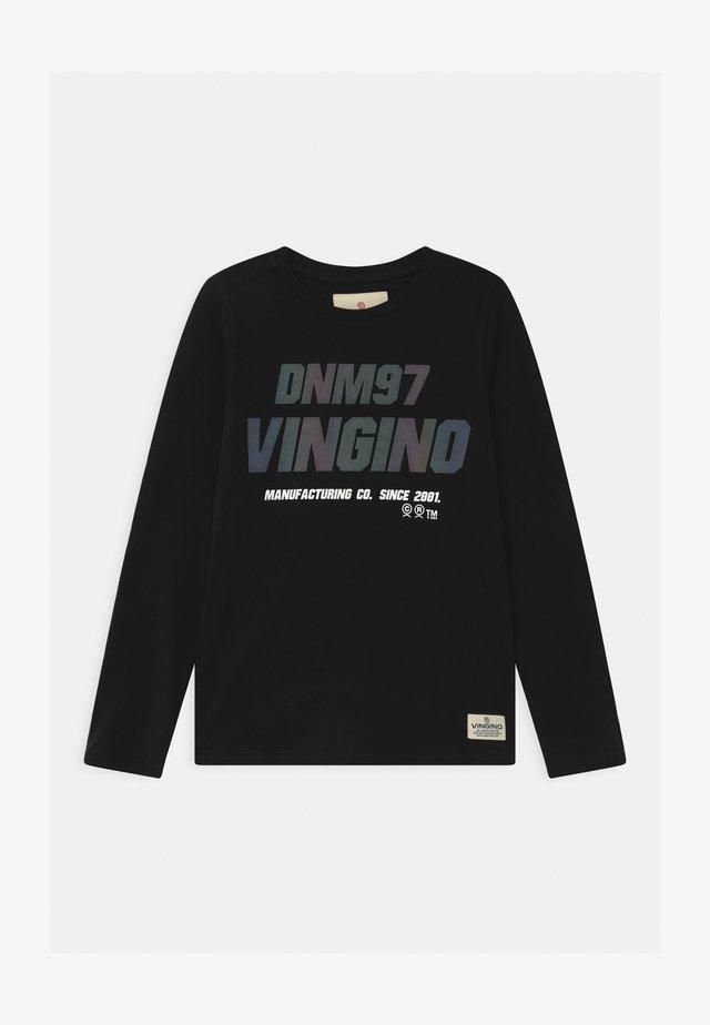 JARGIO - Langærmede T-shirts - deep black