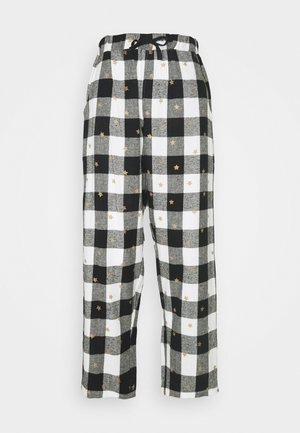 COSY CHECK STAR PRINT TROUSER - Pyjama bottoms - multi
