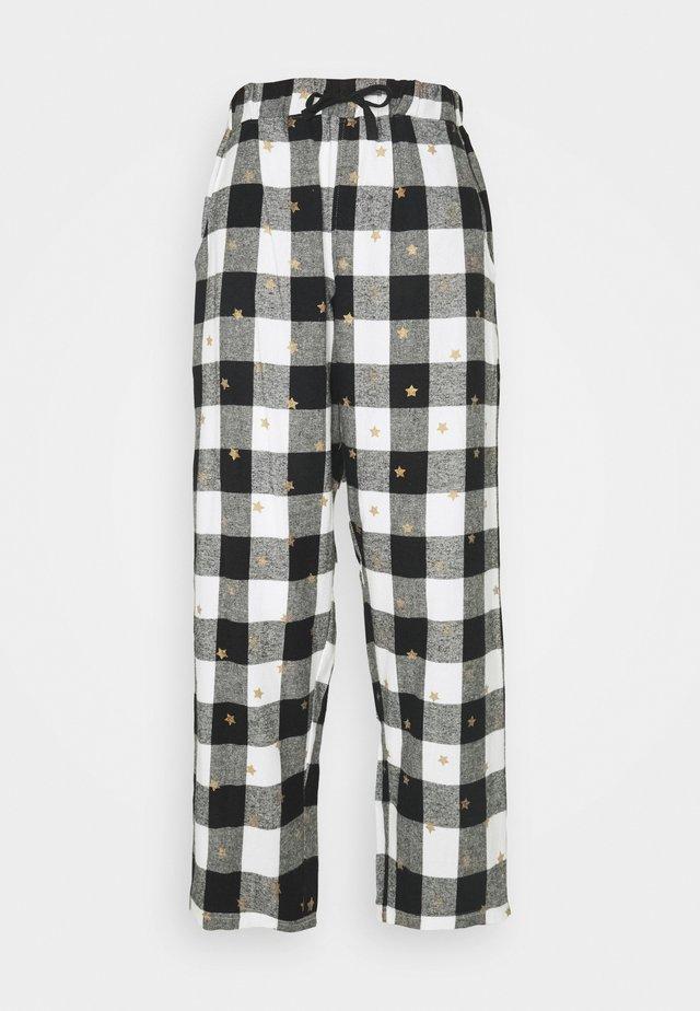 COSY CHECK STAR PRINT TROUSER - Pyjamabroek - multi