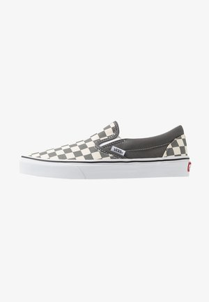 CLASSIC - Loaferit/pistokkaat - pewter/true white