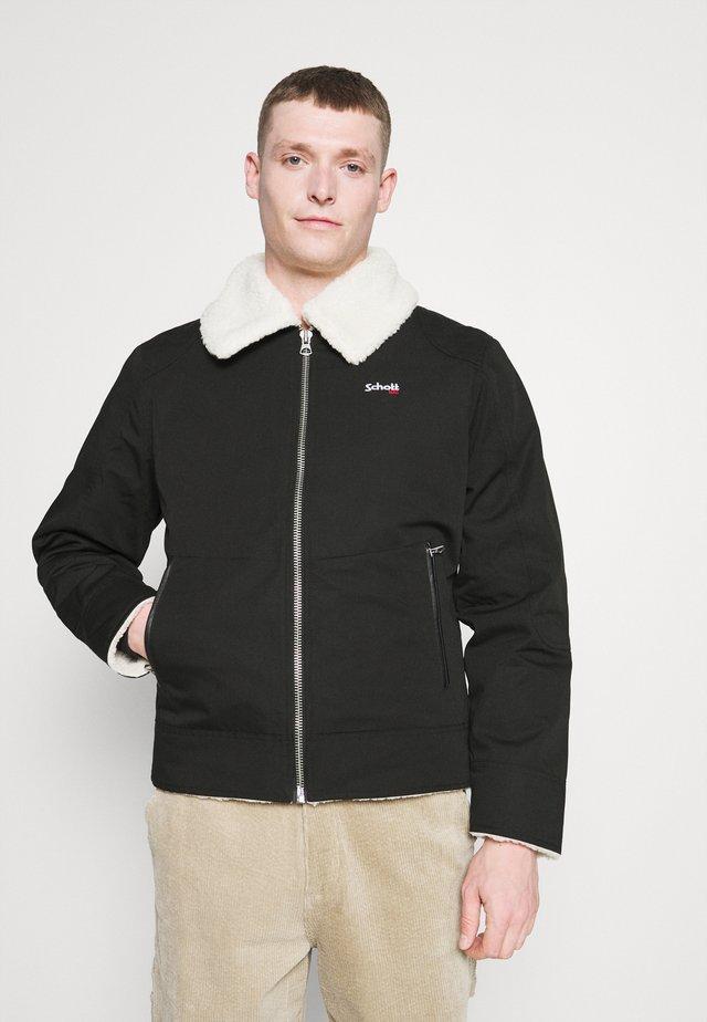 OKLA - Winter jacket - black