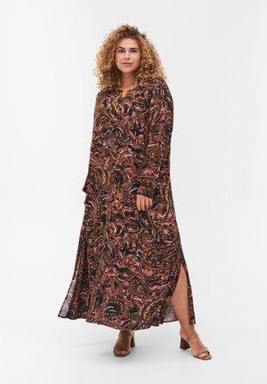 Shirt dress - paisley aop