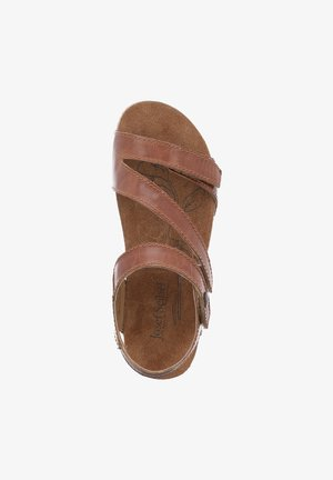 TONGA  - Platform sandals - camel
