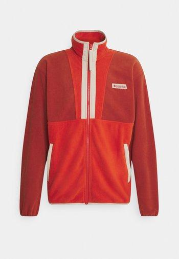 BACK BOWL™ LIGHTWEIGHT - Fleece jacket - dark sienna/ bonfire/ ancient fossil