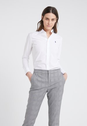 KENDALL SLIM FIT - Button-down blouse - white